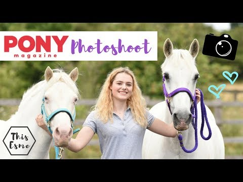 PONY PHOTOSHOOT With PONY Magazine | This Esme