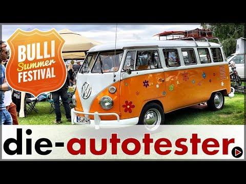Volkswagen Bulli Summer Festival 2017 - 70 Jahre VW Transporter | VW | Auto | Deutsch