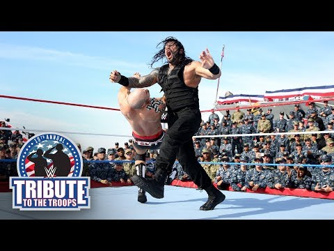 The Shield vs. Samoa Joe, Cesaro & Sheamus - Six-Man Tag Team Match: WWE Tribute to the Troops 2017