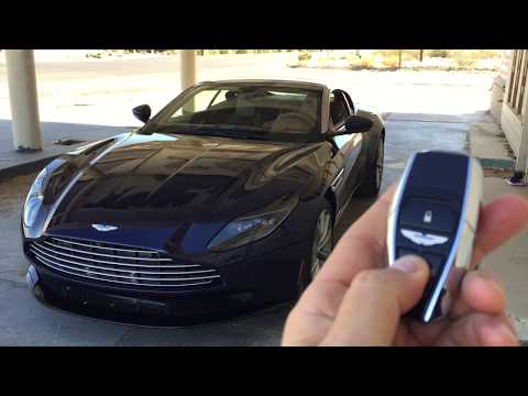 Aston Martin DB11 V8 2018 - Encendido