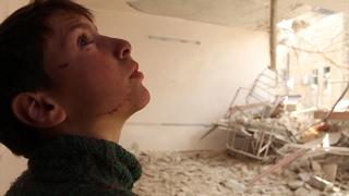 Inside Syria: Broken school but not broken dreams