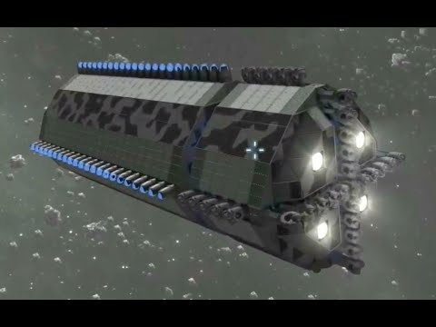 space engineers asteroid ship - photo #29