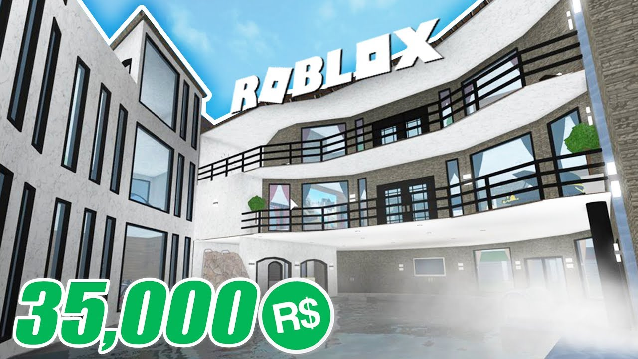 Spending 35 000 Robux On My Million Dollar Mansion