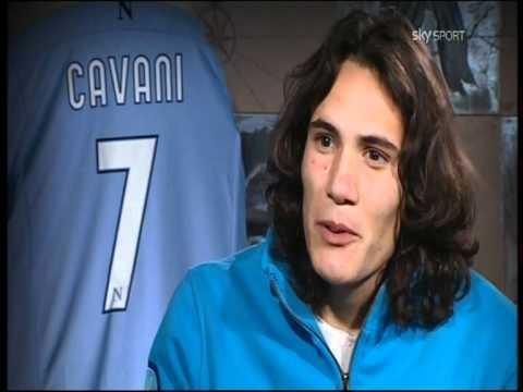Cavani racconta il suo primo gol all'esordio in Italia by Francesco Bauleo