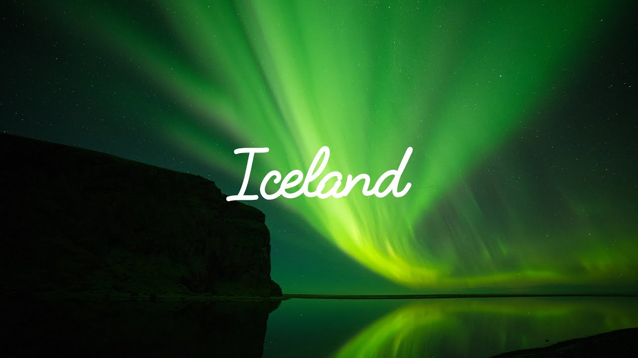 Iceland. Aerial and time lapse compilation. Southern ...