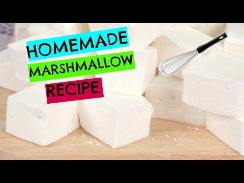 How to Make Homemade Marshmallows I Episode 1 Baking with Ryan