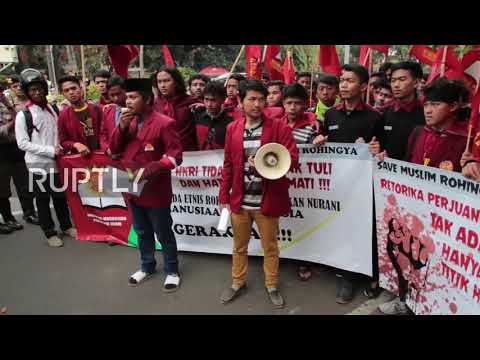 Indonesia: Tensions high as students decry persecution of Rohingya Muslims in Jakarta