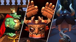 Evolution of Donkey Kong Country Final Bosses (1994 - 2018)