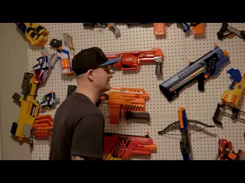 NERF WAR: Chainsaw Massacre!