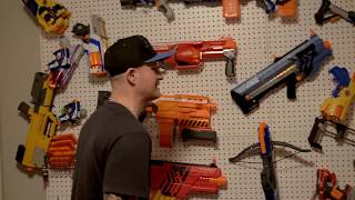 One of GunVsGun's most viewed videos: NERF WAR: Chainsaw Fun!