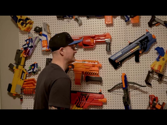 NERF WAR: Chainsaw Massacre!