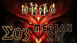 全新引擎既Mod [Diablo II (Median XL Σ1.0.0)] #03 Bowazon Act 5 Baal (And Level Challenge 1)