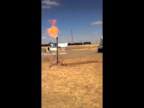 Flaring Drill At SERTC