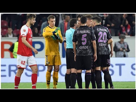 Aktuelle Nachrichten | Bundesliga - Verrückter Videobeweis bei Mainz - Freiburg: Elfmeter in der ...
