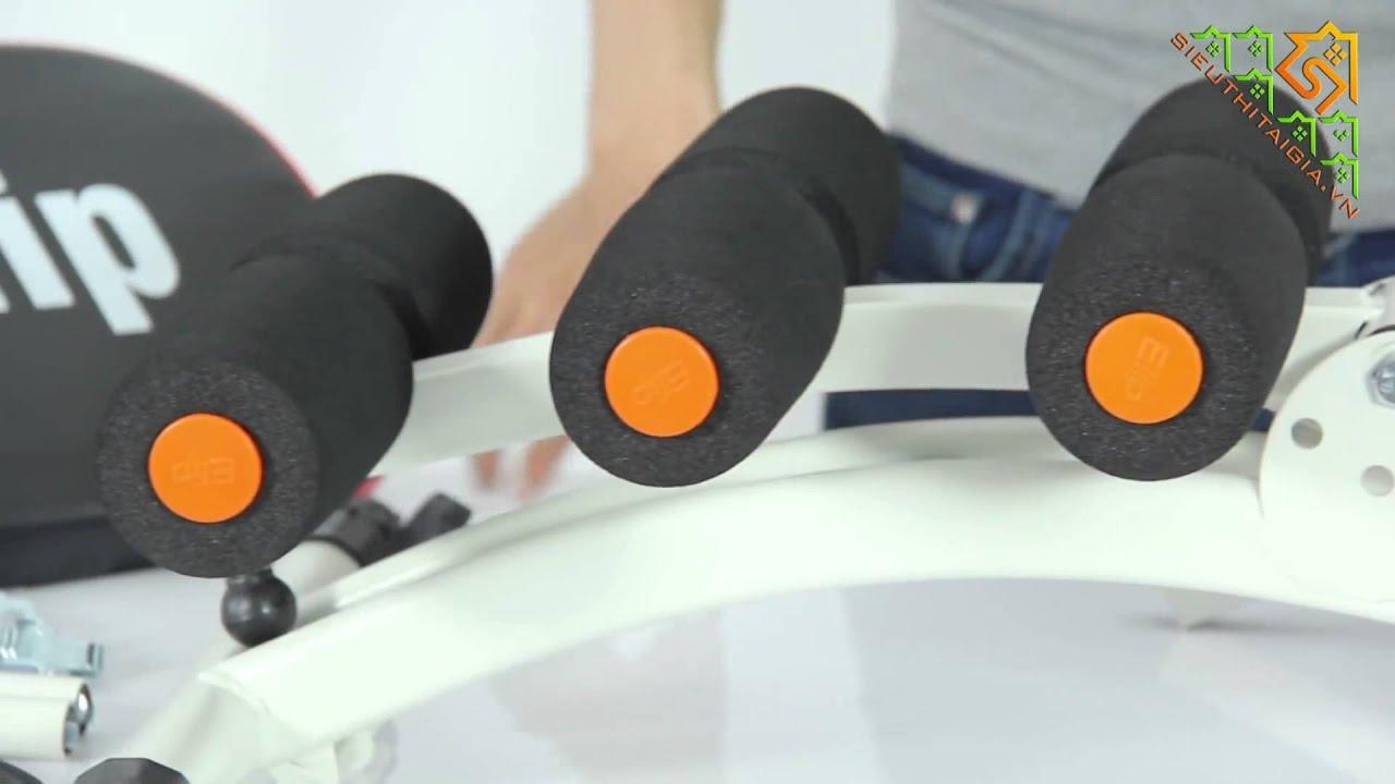 Hướng dẫn cách lắp ráp máy tập bụng tổng hợp Elip 2020