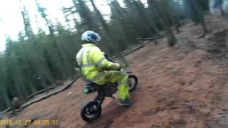 pitbikes 125cc stomp 110cc m2r 125cc loncin @ bathgate vid 1