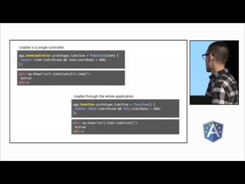 Software Patterns and Design with AngularJS by Jeremy Elbourn at ng-europe 2014