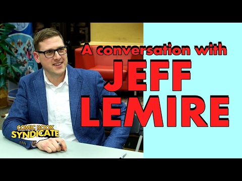 Jeff Lemire - panel discussion at WPL | COMIC BOOK SYNDICATE