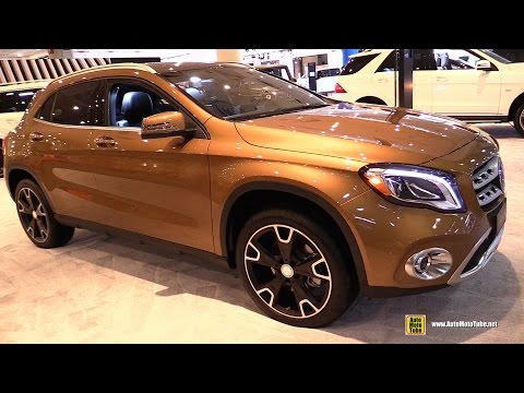 2017 Mercedes GLA250 4Matic - Exterior and Interior Walkaround - 2017 New York Auto Show