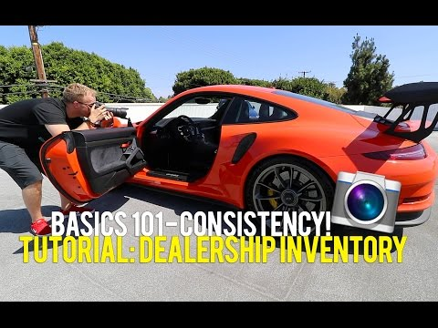 Inventory Photography For Car Dealerships Tutorial