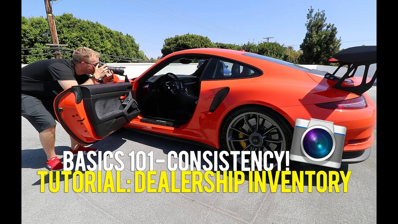 inventory photography for car dealerships tutorial youtube