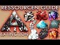 ARK EXTINCTION Guide Deutsch Ressourcen & Tipps Ark: Extinction Deutsch German DLC