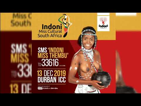INDONI MR AND MISS CULTURAL SOUTH AFRICA