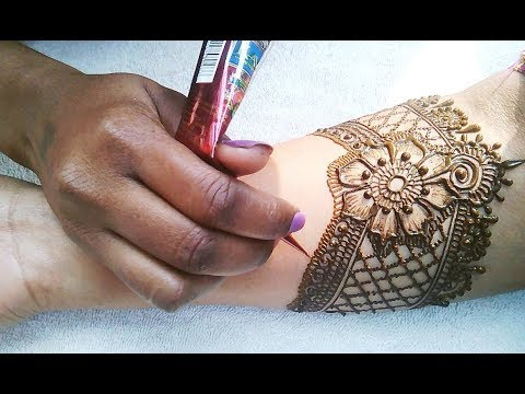 How to apply the best and most attractive henna for bride| Latest mehndi design