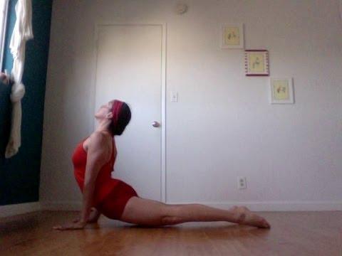 yoga basics cobra vs upward facing dog instruction for