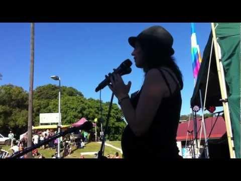 """Rebecca Rushbrook ~ """"Mine"""" ~ ROCK THE GATE Lismore 12 May 2012"""