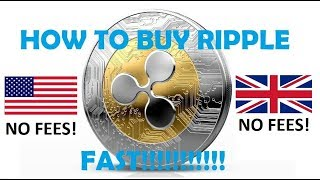 How to BUY RIPPLE in the UK!!!! NO FEES +Bonus Links