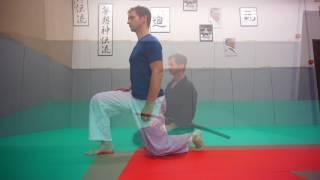Aiki Taiso Iai Taiso Body Workout - kneeling, mobility & movement - Xavier Dufau