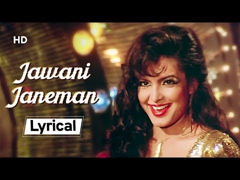 Jawani Janeman 💃💃With Lyrics | Namak Halaal(1982)| Parveen Babi | Amitabh Bachchan | Shashi Kapoor