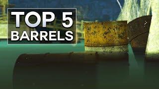 Fallout 4 - Top 5 Barrels