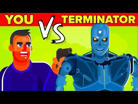 YOU vs THE TERMINATOR - Could You Defeat And Survive Him? (The Terminator Movie 2019)