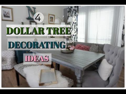 DOLLAR TREE DECORATING| MODERN FARMHOUSE STYLE DECOR IDEAS| Megan Navarro