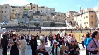JERUSALÉN, Israel - Tierra santa, turismo religioso, ciudad tourism travel holy city tour Jerusalem Travel Video