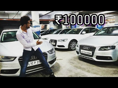 Cheapest AUDI Cars in India !🇮🇳   Wholesale Price   Must Watch   DELHI   Tushar 51NGH