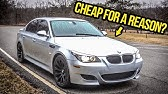 The 500-HP BMW M5 Is A $15,000 SUPERCAR, But Should You Buy One?