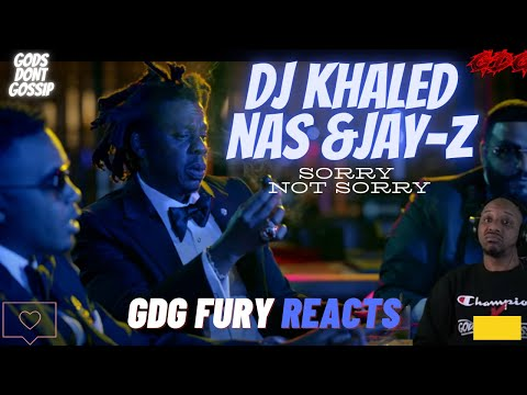 GDG Fury reacts to DJ Khaled ft. Nas, JAY-Z – SORRY NOT SORRY (REACTION) 2 GOATS