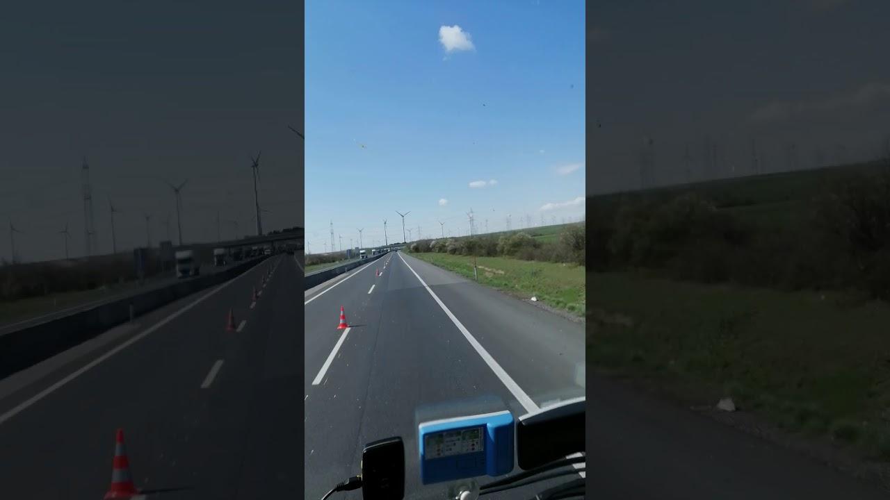 Korek na wjazd na Węgry od strony Wiednia
