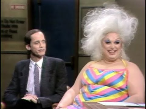 John Waters & Divine on Late Night, Part 1 of 3: 1982