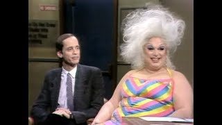 John Waters (& Divine) on Late Night, Part 1 of 3: 1982