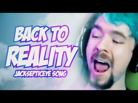 """BACK TO REALITY"" (Jacksepticeye Remix) | Song by Endigo"
