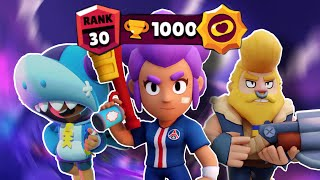How to get a RĄNK 30 in SOLO SHOWDOWN | TIPS and TRICKS + GAMEPLAY (Full guide) | Brawl stars (Pt 2)