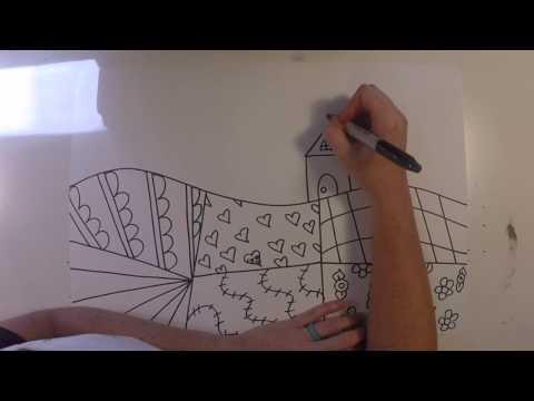 Folk Art: Part 1- Drawing