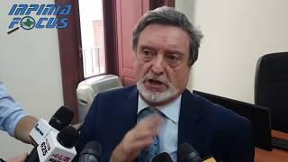 """Lioni-Grotta, firmati nuovi contratti. D'Ambrosio: """"Questi fondi non un retaggio del terremoto 80"""""""