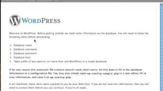 Installing WordPress on a Local Web Server