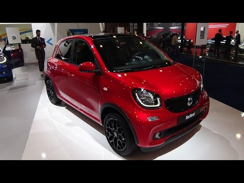 2016 - Smart forfour prime - Exterior and Interior - Auto Show Brussels 2016