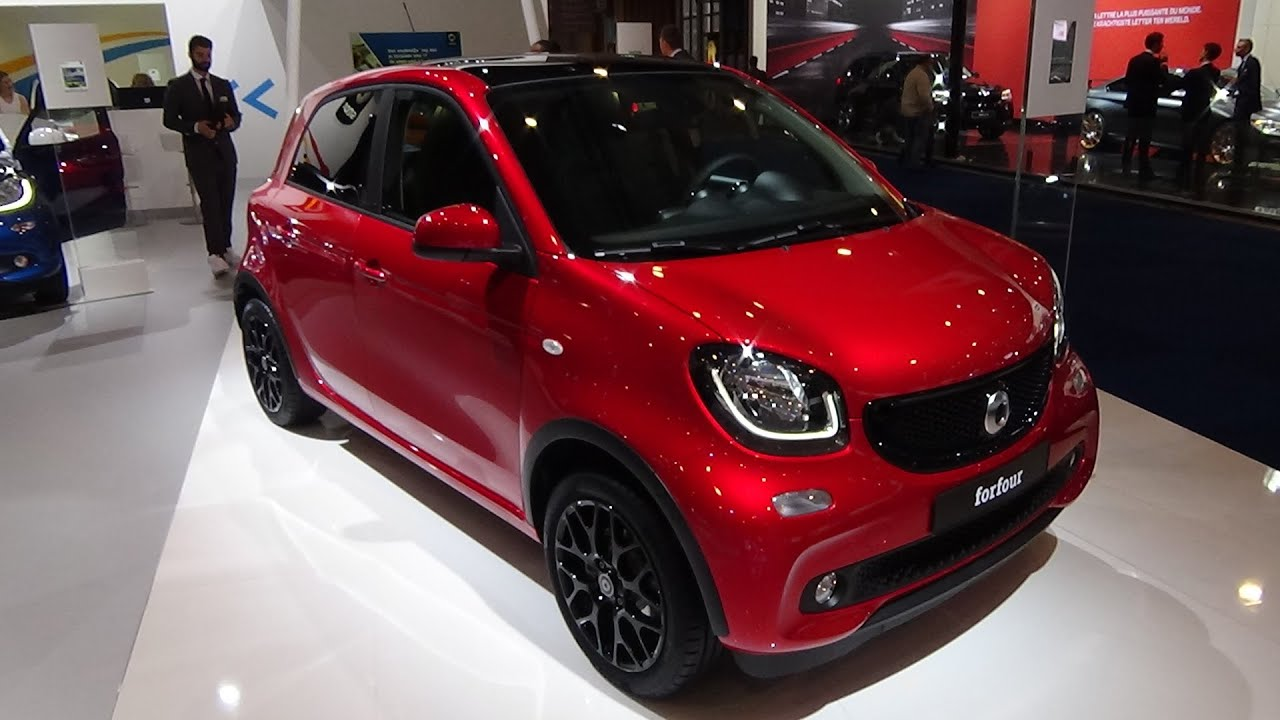 2016 smart forfour prime exterior and interior auto show brussels 2016 youtube. Black Bedroom Furniture Sets. Home Design Ideas